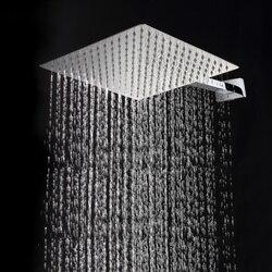 30cm * 30cm quadrado aço inoxidável ultra-fina cabeça de chuveiro de chuva. 12 Polegada chuveiros de chuva. Não inclui braço de chuveiro