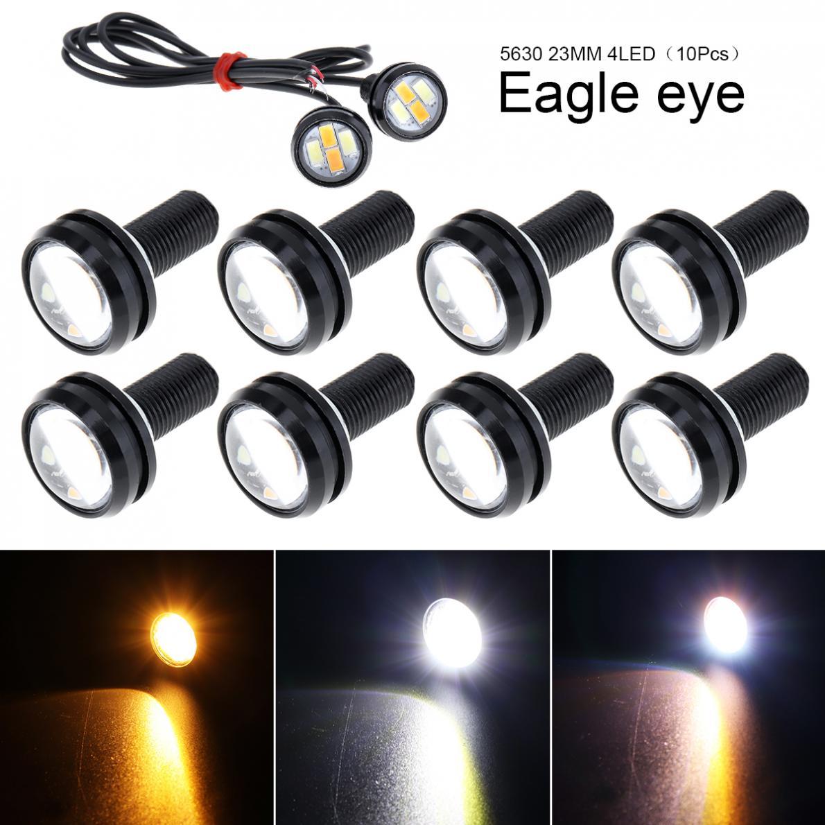 1PC Eagle Eye LED 9W 23mm 5730 Bulbs White Motor Car Backup Turn Signal Light #