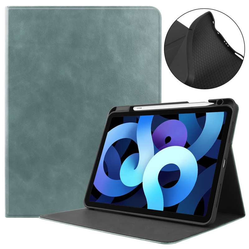 Tablet-Case for Pencil-Holder Fold-Stand iPad A2072-Shell Apple with Air4-Cover Fundas