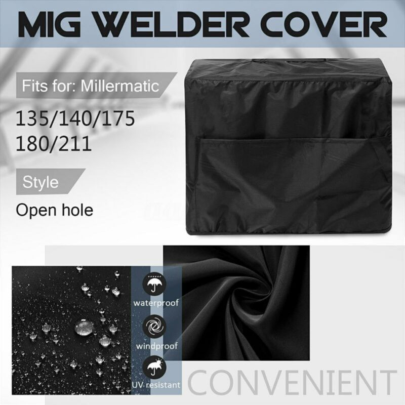 MIG Welder Cover Waterproof Welding Machine Canopy Sunscreen Dust Cover M89B