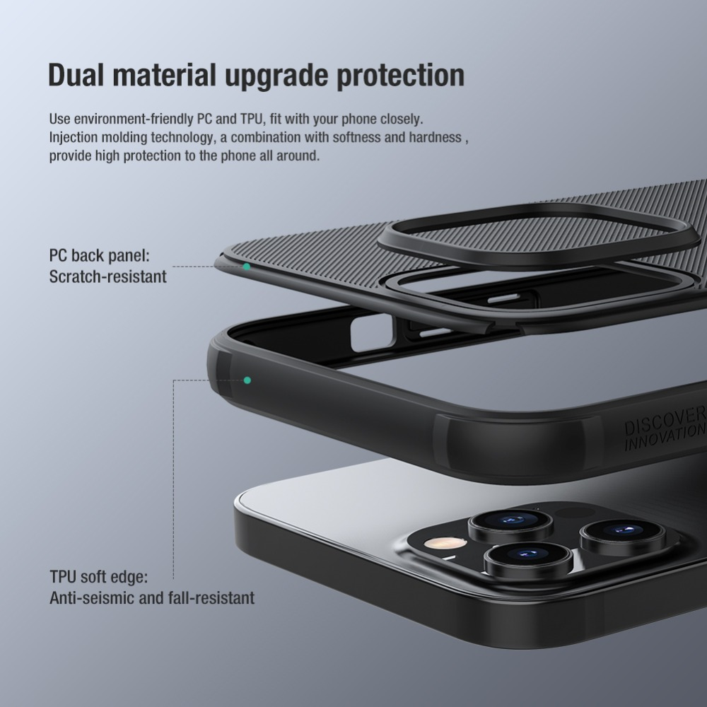 Frosted Shield Slide Cover Camera Protector Case For iPhone12 Pro Max  1