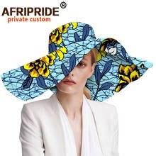 Женские шляпы с Африканским цветочным принтом женские из анкарской