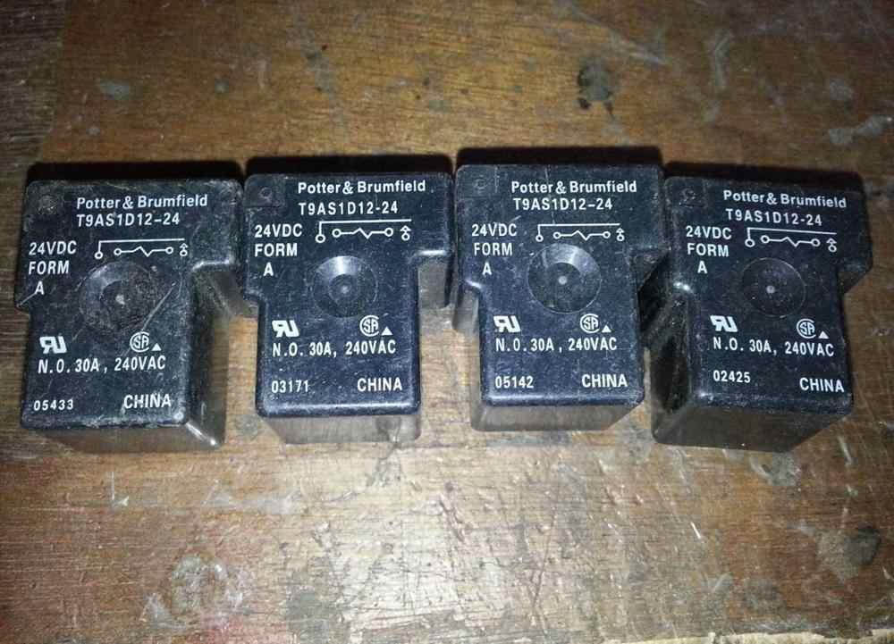 関係 T9AS1D12-24 24VDC T90-1A-4P