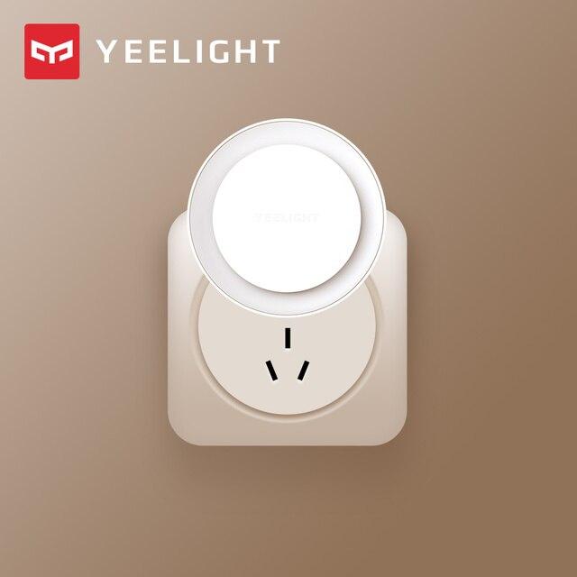 (Latest Version)Yeelight induction night light (plug in version) led lamp bed lights for Children bedroom corridor