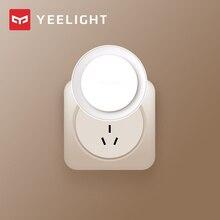 (Neueste Version)Yeelight induktion nacht licht (plug in version) led lampe bett lichter für Kinder schlafzimmer korridor