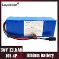 36V 12ah литиевая батарея 10S4P 12800mAh 500W высокая мощность и емкость 42V 18650 мотоцикл электрический автомобиль велосипед Скутер с BMS