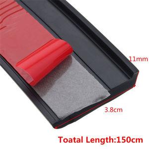 Image 5 - 2pcs 1.5 m Universal Rubber Car Wheel Arch Protection Moldings Anti collision Mudguard Car Wheel Protection Wheel Sticker