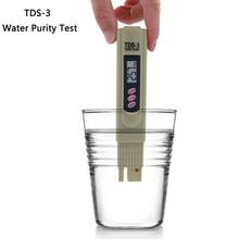 TDS-3 2 em 1 tds/medidor de temperatura 0-9990 ppm tds medidor de qualidade da água monitor de pureza analisador calibração automática para aquários da associação