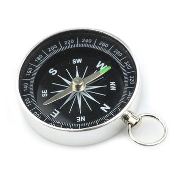 Mini Portable Alloy Pocket Compass Outdoor Sport Hiking Survival Navigation Tool image