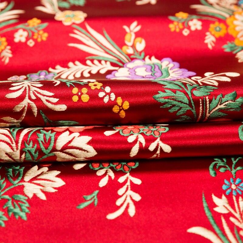 50cm * 75cm satin stoff imitation silk tuch brokat material für geschenk box/tasche