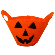 Halloween Tote Bag Cartoon Child Gift Bag Trick Or Treat Can