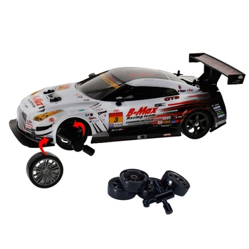 2.4G 4WD Drive Rapid Drift Car Remote Control GT-R NISMO GT3 Car Radio Control Off-Road Vehicle RC Car Drift High Speed Model Ca 2