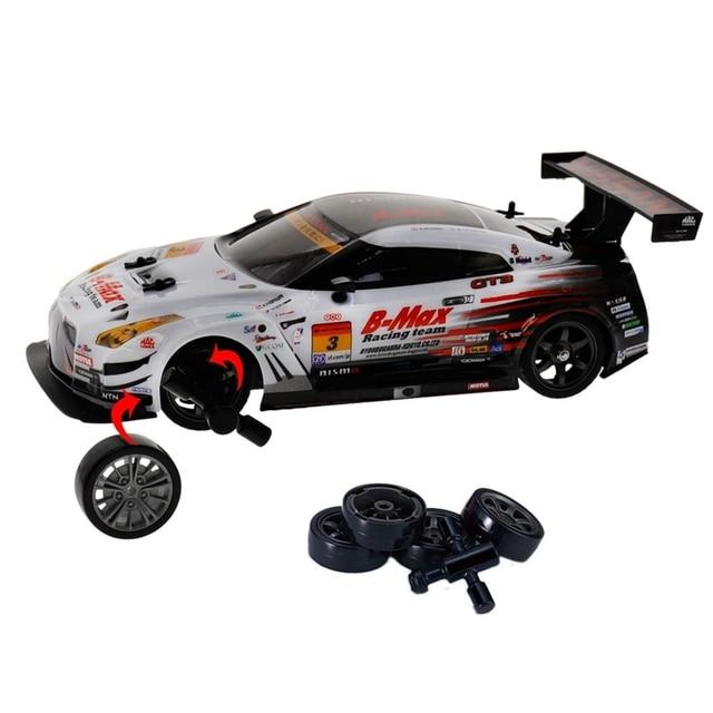 2.4G 4WD Drive Rapid Drift Car Remote Control GT-R NISMO GT3 Car Radio Control Off-Road Vehicle RC Car Drift High Speed Model Ca 2
