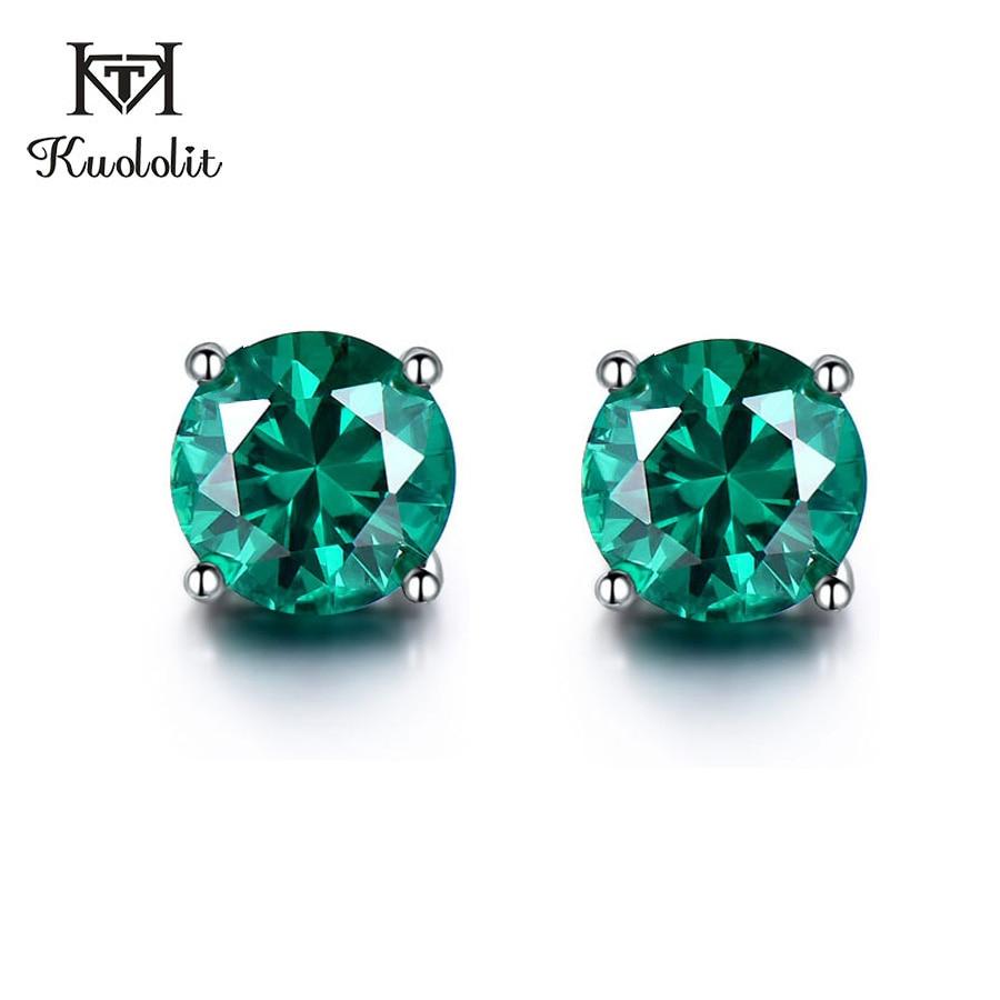 silver gemstone earrings for women  (1)