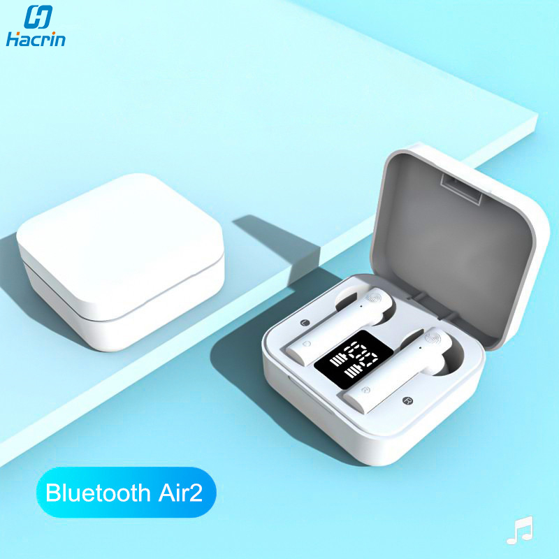 True Wireless Bluetooth Earbuds for <font><b>Mi</b></font> Air 2 <font><b>TWS</b></font> Earphones Noise Cancelling Headphones with Mic in Ear for Xiaomi Redmi Air 2s image