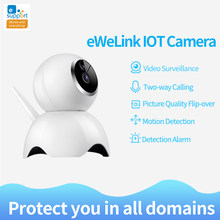 eWeLink IP Camera Smart IOT HD Camera reomotely viewing by mobile phone two-way 360 panoramic camera for home security(China)