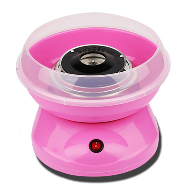Electric DIY Sweet Cotton Candy Maker Marshmallow Machine MINI Portable Cotton Sugar Floss Machine For 5 Color
