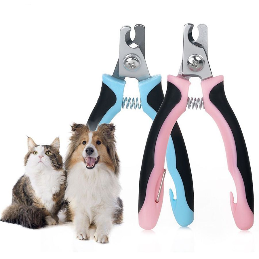 Dog Nail Clippers Pet toe care stainless steel Stainless Steel Scissors pet for small dog