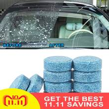 10-100pcs (1pc = 4L) auto Wiper Cleaner Multifunctionele Bruisende Spray Cleaner Auto Voorruit Cleaning Auto Ca Accessoire(China)
