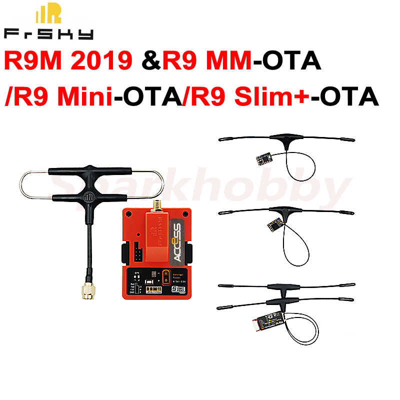 1set Frsky R9M 2019 Module With R9MM-OTA R9mini-OTA R9slim+OTA Kit R9M 2019 Module And R9 Receiver 900MHz Long Range RC System