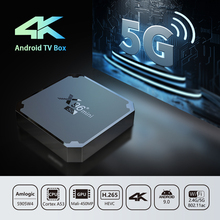 X96 Mini TV Box Android 9.0 S905W Quad Core 1GB RAM 8GB ROM Dual Band WiFi STB TV Box Android 9.0 WIFI Media Player