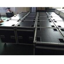 P5 Và P10 Tủ Chuyến Bay Ốp Lưng Đúc Nhôm 640mmX640mm Nhôm Đúc Tủ Gói, 1 Gói 6 Chuyến Bay Ốp Lưng