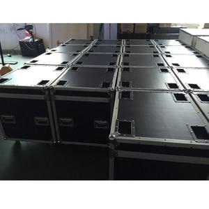 Image 1 - P5 and P10 cabinet Flight Case die casting aluminum 640mmX640mm aluminium die casting cabinet package, 1 Pack 6 flight case