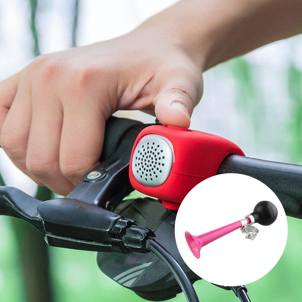 Bike Air Horn Trumpet Mountain Bike Beach Cart Squeeze Air Bell Hooter Bugle Bicycle Accessory