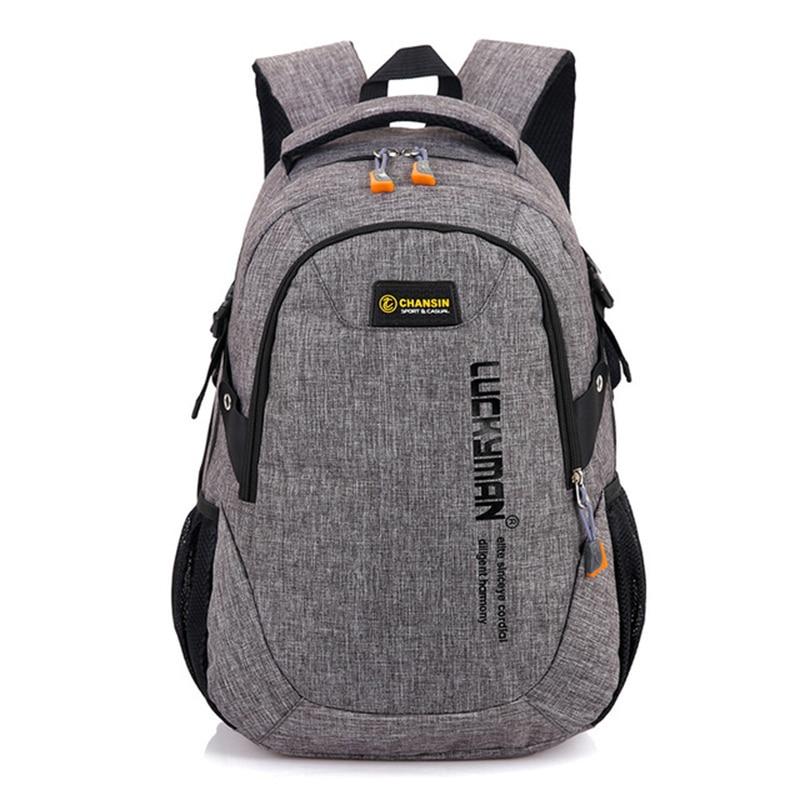Canvas Men Backpack School Bags For Teenagers Boy Girl Laptop Backpacks Women Rucksack Male Mochila WBS473