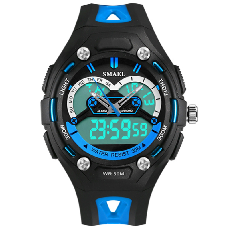 waterproof Student Children Sport Digital Watch LED Digital Wristwatch Electronic Wrist Watch Boys Kids Military Wristwatches enlarge