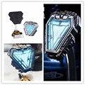 Мстители Бесконечность войны Марка 50 Железный человек реактор ABS металлическое освещение Коллекция игрушек подарки