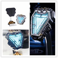 Avengers Infinity War Mark 50 IRON MAN Reactor ABS Metal Lighting Collection of Toy Gifts