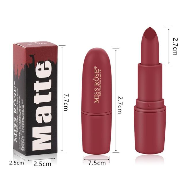 Makeup Lipstick Professional Matte Lipsticks Waterproof Long Lasting Sexy Red Lips Gloss Makeup Matte Lipsticks Beauty Cosmetics 5