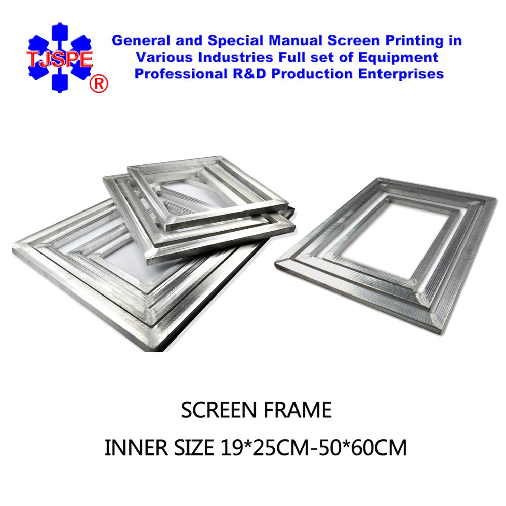 Aluminum Alloy Screen Frame For Screen Printing Inner Size 50*60cm