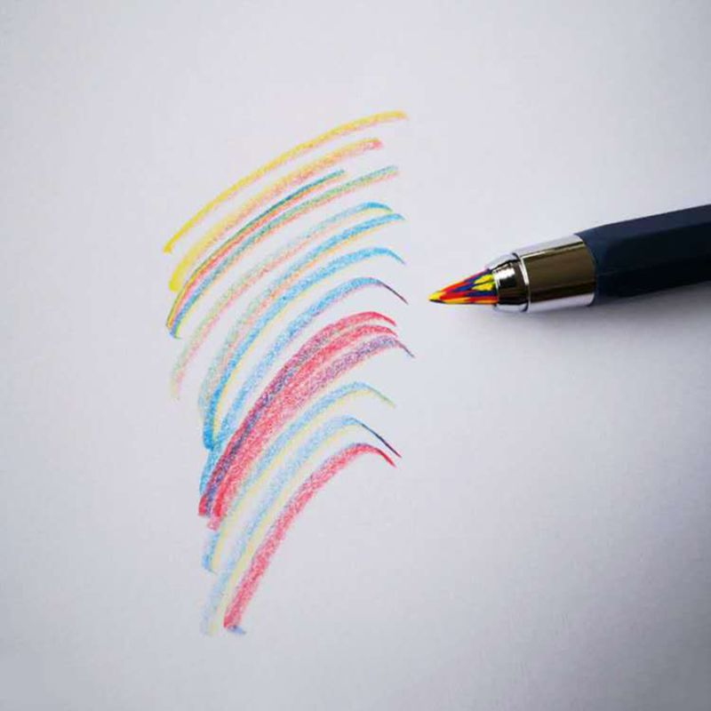 5.6mmX90mm Magic Rainbow Pencil Lead Art Sketch Drawing Color Lead School Office Supplies