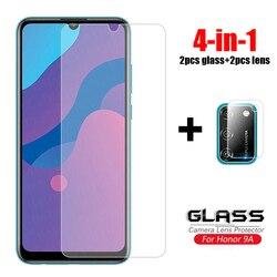 На Алиэкспресс купить стекло для смартфона 4-in-1 for huawei honor 9a glass 9c 9s 9x lite pro tempered glass screen protector camera lens back glass film honor 9a 9s glass