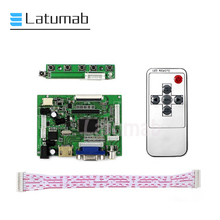 Latumab 50Pin плата для AT065TN14 AT070TN90 AT090TN10 ЖК-дисплей 800 × 480 контроллер монитор HDMI VGA 2AV аудио драйвер плата комплект