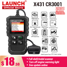 LAUNCH X431 CR3001 OBD2 scanner full OBDII EOBD Code Reader Car Diagnostic tool check engine light Free update pk cr319 ELM327