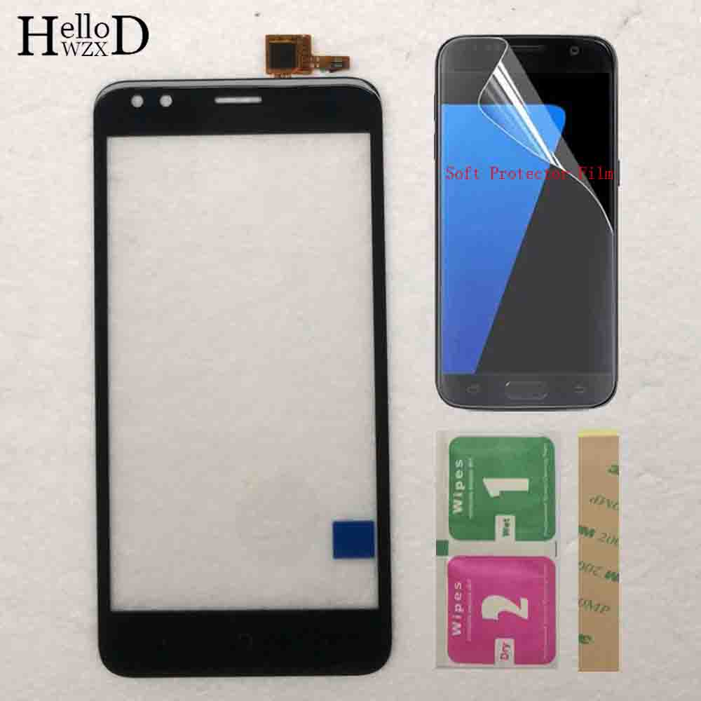 Mobile Touch Screen Sensor For Micromax Bharat 3 Q437 Touch Screen Digitizer Front Glass Touchscreen Panel Protector Film Glue