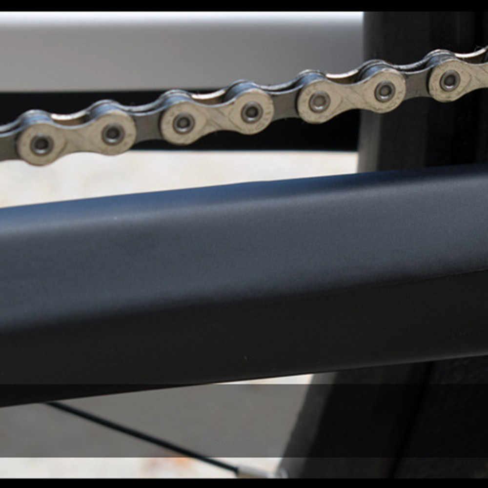 Chaîne de vélo anti-rayures autocollant de protection vtt vélo chaîne et cadre protection contre les rayures vélo autocollant de protection Paster