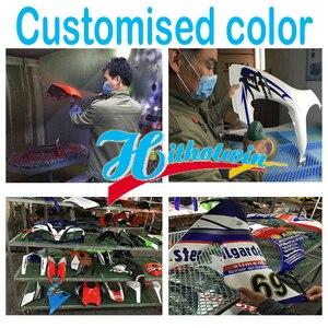 Image 2 - 5 geschenke + Nach movistar karosserie motorrad ABS Verkleidungen für VFR800 1998 1999 2000 2001 VFR 800 98 01