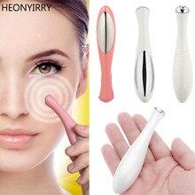 Bellezza Mini Dispositivo di Massaggio Occhio Penna di Tipo Elettrico Eye Massager Trattamenti Per Il Viso di Vibrazione Sottile Viso Bastone Magico Anti Sacchetto Del Sacchetto & rughe