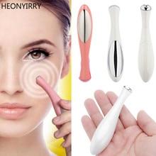 Pequeño dispositivo de masaje de Ojos de belleza Tipo de rotulador masajeador eléctrico para ojos faciales vibración cara delgada palo mágico Anti bolsa y arrugas