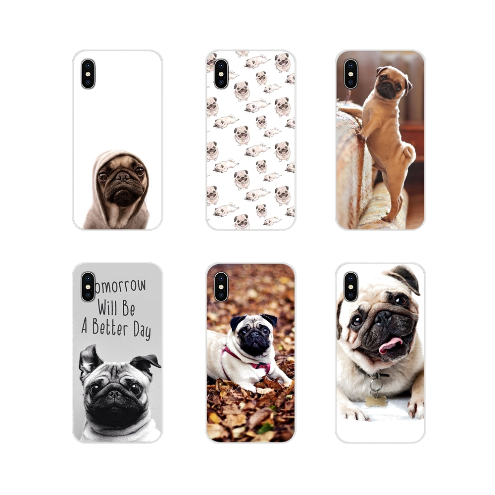 Soft Case <font><b>Covers</b></font> Puppies Cubs Dogs Poodle <font><b>Pug</b></font> Doggy For <font><b>Xiaomi</b></font> Mi4 Mi5 Mi5S Mi6 <font><b>Mi</b></font> A1 <font><b>A2</b></font> 5X 6X 8 9 Lite SE Pro <font><b>Mi</b></font> Max Mix 2 3 2S image