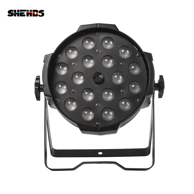 18x18W RGBWA+UV 6in1 LED Par Light Outdoor Zoom Par Can Zoom Led Par Light For Birthday Party Wedding Dj Disco Dance Floor Clubs