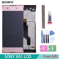 "5,0 ""Original Display Für SONY Xperia XA1 LCD Touch Screen mit Rahmen LCD für SONY XPERIA XA1 Display G3112 g3116 G3121"
