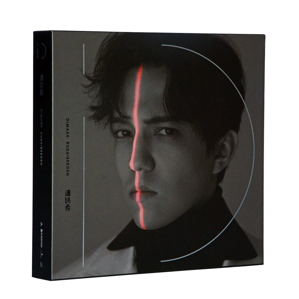 NEUE 2019 Echtem Dimash Kudaibergen 《 iD 》 2CD + Album + Offizielle Poster Musik CD Crown Dornen Auto musik