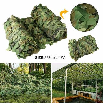 High-quality Woodland Camouflage Camo Army Net Hide Netting Camping Military Hunting Shelter 8mx8m woodland camouflage netting military army camo hunting hide camp cover net outdoor camping sun shelter