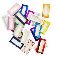 Wowangel упаковочная коробка для ресниц, пустая упаковка, разноцветная бумажная коробка 25 мм, для ресниц, для самостоятельного макияжа