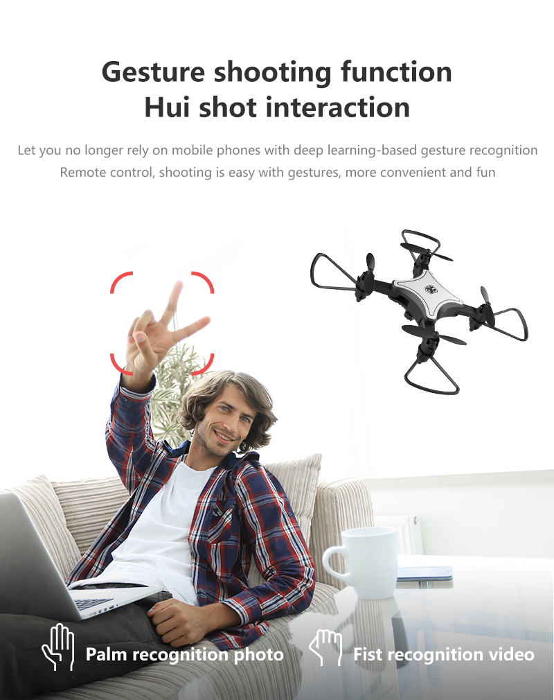 XKJ KY902 Mini Drone Quadcopter con cámara 4K HD 11